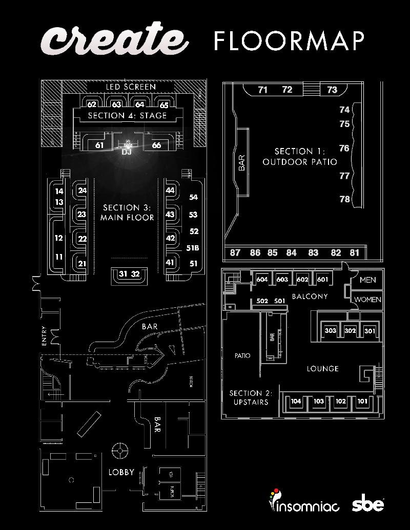 Nightclub Building Floor Plans Images