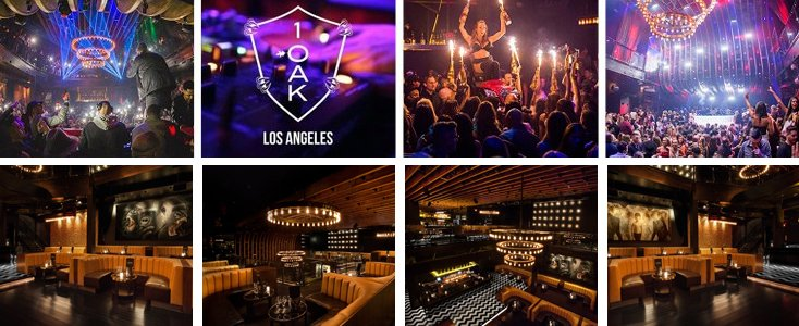 1OAK LA Club Bottle Service VIP