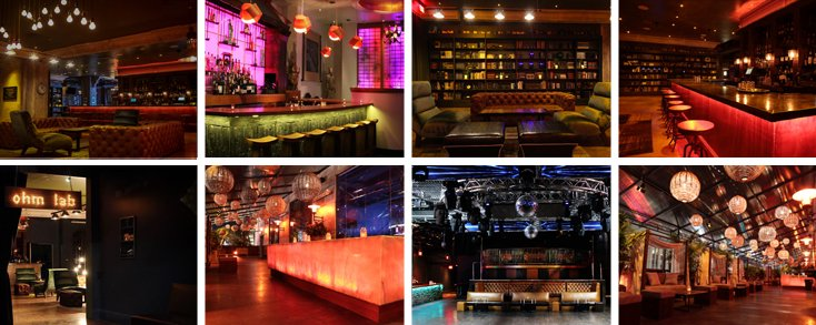 OHM Nightclub Venue Images