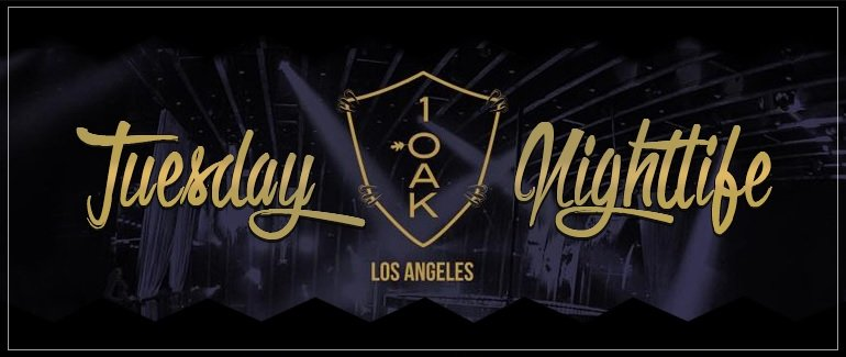1 OAK Tuesday Best Club LA