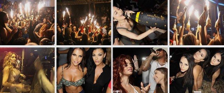 Entree Fridays Henrys LA Nightlife Party