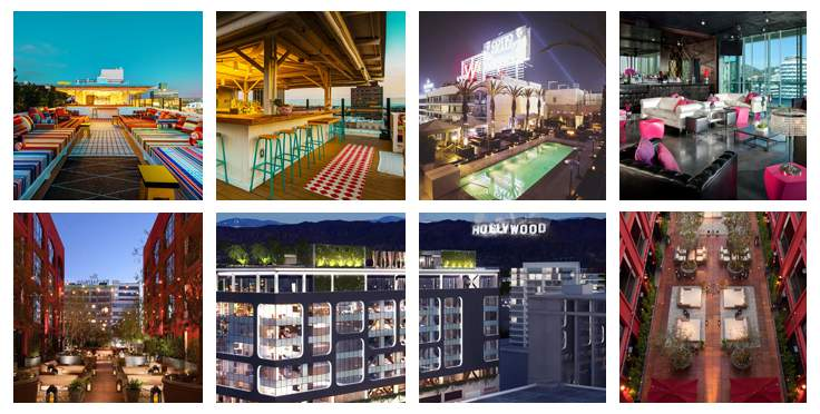 Best Rooftop Bars LA Hollywood