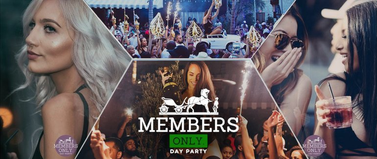 Le Jardin | Members Only Day Party