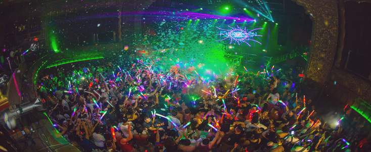 Belasco Theater Massive EDM LA Club