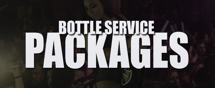 Hollywood Bottle Service Packages