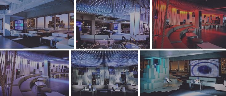 Elevate Lounge and Nightclub in Downtown LA